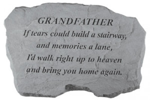 funeral poems for grandpa