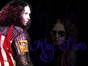 Ray Toro . Blue Widow by Sixxer36-Punk