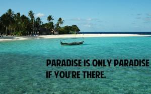 Paradise Quote