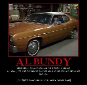 al bundy s dodge dart jefferson darcy finally selling the dodge huh al ...