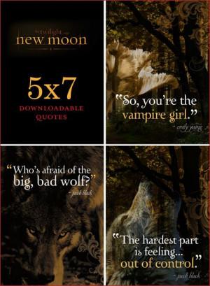 Free Printables: New Moon {Twilight Saga}
