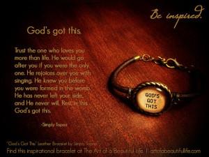 Inspirational Quote Bracelet