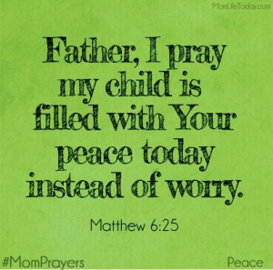 Daily prayer-praying for others.