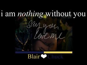 Blair & Chuck CHUCK & BLAIR ~ A TRUE EPIC LOVE STORY!