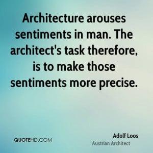 Adolf Loos Architecture Quotes