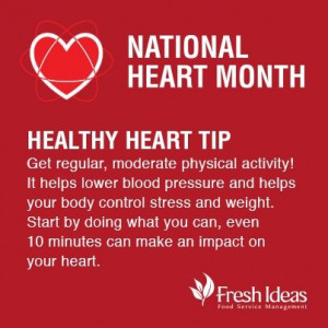 February Is Heart Month Poster | February is National Heart Month ...
