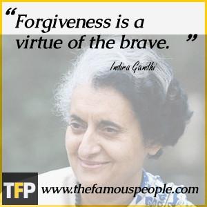 Indira Gandhi Quotes Life
