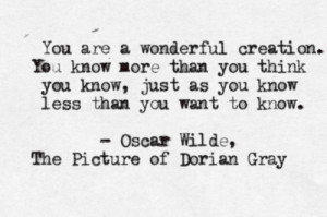 quote oscar wilde the picture of dorian gray
