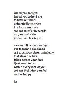 Love About Winter Poetry