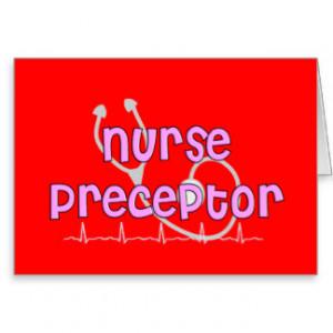 Nurse Preceptor Gifts Cards