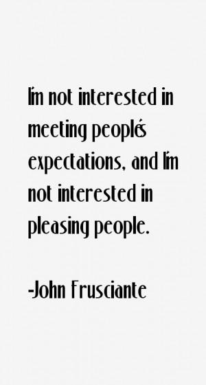 John Frusciante Quotes & Sayings