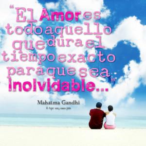 Quotes Picture: el amor es todo aquello que dura el tiempo exacto para ...
