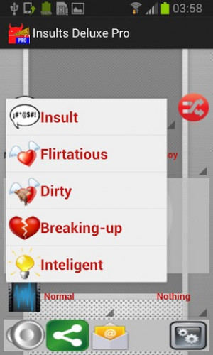 Compliment Pou dels insults screenshot for Android