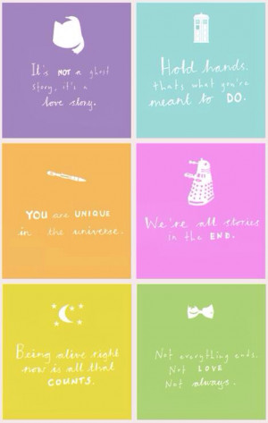 doctor who, inspirational, love, quotes