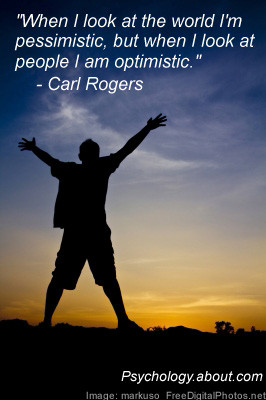 Carl Rogers Quote - © Kendra Cherry, adapted from an image by markuso ...