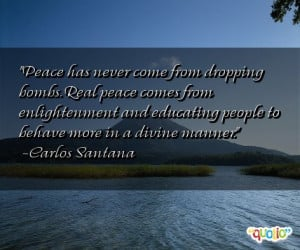 Peace Quotes By Famous People