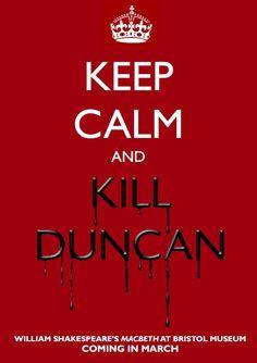 Macbeth Funny, Lady Macbeth, Macbeth Art Ideas, Kill Banquo Banquo ...