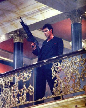 Tony Montana : I kill a communist for fun, but for a green card, I ...