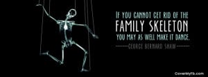 Family Skeleton Facebook Cover