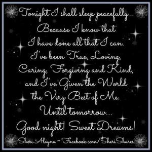 Native American Good Night Quotes | Good+night+sweet+dreams