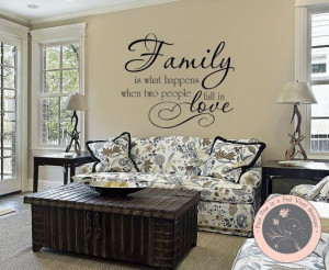 Wall decal quotes, smart, best, sayings, family