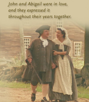 john and abigail adams relationship