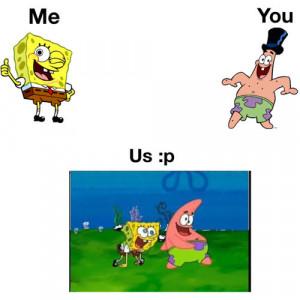 Spongebob And Patrick Best Friend Quotes Spongebob patrick funny