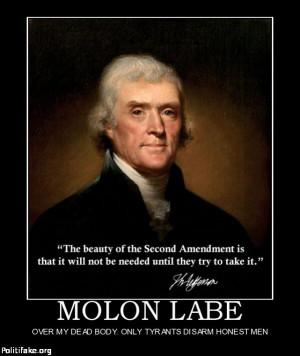 Thomas Jefferson on the 2nd Amendment