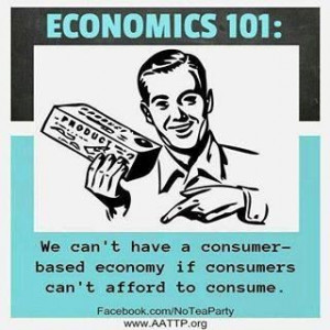 Economics 101 ... I think a lot of us need to repeat the course!