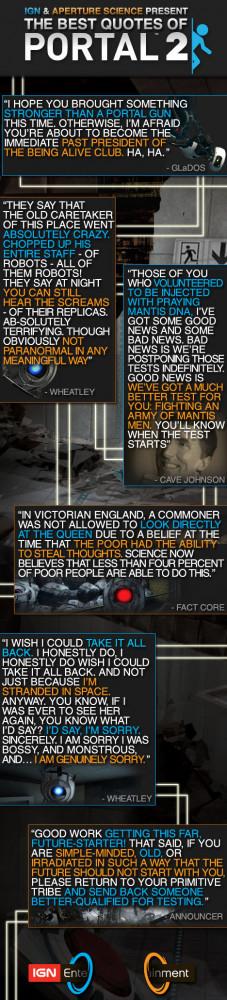 Portal 2's Best Quotes