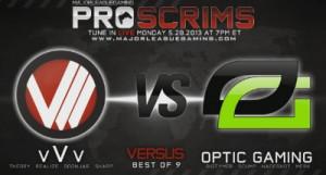 vVv.CoD vs OpTic Gaming & Team EnVyUs on MLG Proscrims