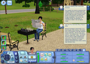More Fun Activities - Sims 3 Showtime: 3-25-2012