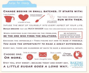 Love this manifesto by our friends at Baking for Good. (best brownies ...