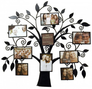 Love Picture Frames With Quotes And Sayings: Family Tree Photo Frame ...
