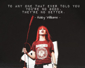 15 Inspirational Quotes From Hayley Williams