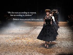 fashion quote by Seneca