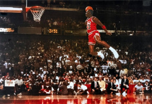 Dunk from the Free Throw Line, 1988 NBA Slam Dunk Contest
