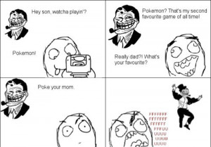 Troll Dad Comic Pokemon !