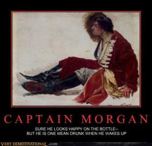 Captain Morgan Demotivational Poster