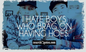 Quotes For Hoes That Hate I hate hoes quotes