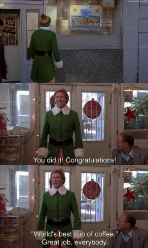 quotes from elf – funny christmas movie quotes quotes pics [620x1037 ...