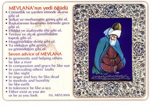 Rumi Mevlana and the mausoleum
