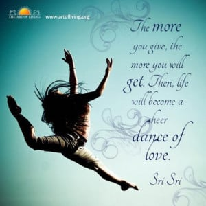 Quotes on Life by Sri Sri Ravi Shankar