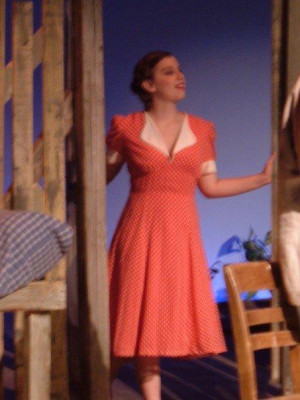 Me As Curley S Wife In Of Mice And Men Shawnee Theatre