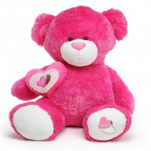 Love Huge Hot Pink Teddy...