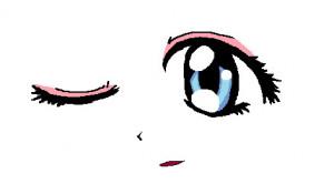 Anime Eyes Wink