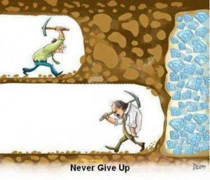 so close - yet so far -- don't stop short of your goal!!!