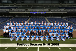 Detroit Lions 2008 Perfect Season Image
