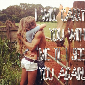 See You Again Carrie Underwood Lyric quote