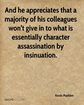 Character assassination Quotes